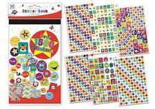 1500+ Childrens Teachers Well Done Award Reward Stickers Pad Book STBI