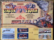Bachmann Emmett Kelly Jr. Big Top Circus Electric Train In Box G-Scale #90921