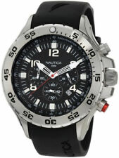 Men's Nautica NST Black Chronograph Watch N14536G