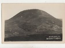 Nazareth Mount Tabor Vintage RP Postcard 362b