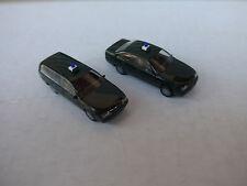 2 x Herpa Polizei1:87 Opel Omega GLS, wie Neu
