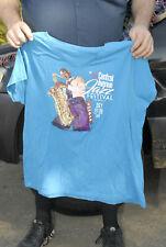 2019 Central Avenue Jazz Festival t shirt V neck Xl mint- nm+ aquamarine