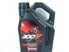 MOTUL 300v 15w60 ACEITE DE MOTOR 4 Litros 15w-60 4 tiempos para OFF ROAD ESTER