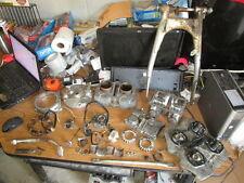 1971 Honda SL350 Motosport Cylinder Engine Brake Pedal Swingarm Etc Parts Lot