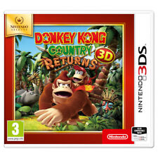 Nintendo 3ds Selects Donkey Kong Country Returns 3d