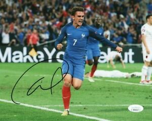 France Antoine Griezmann Autographed Signed 8x10 Photo JSA COA #1