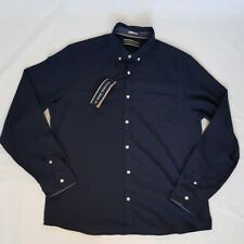 Spitalfields Navy Blue Long Sleeved Shirt Size XL NWT