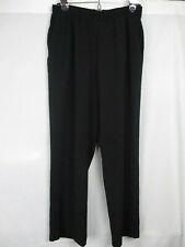"TanJay NWOT Women's Black Pants Slacks Trousers Pull On Inseam 27 27""Size 8"