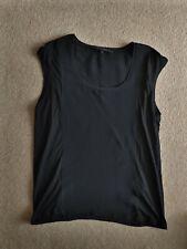 Ralph Lauren Black Silk Top (Used) Size S