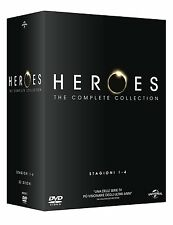 Heroes Stagioni 01-04 The complete Collection ( 23 DVD ) NUOVO