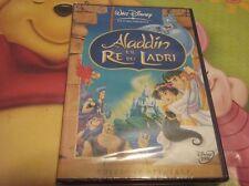 DVD DISNEY- ALADDIN RE DEI LADRI NUOVO/SIGILLATO/ORIGINALE VERSIONE ITALIANA