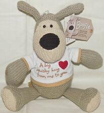 American Greetings Boofle Dog Sweater Knit, Tan Hug Shirt Plush ❤ Valentines Day