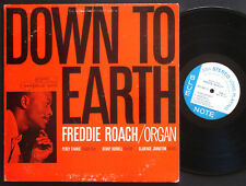 FREDDIE ROACH Down To Earth LP BLUE NOTE 84113 US 1962 NY RVG ST Kenny Burrell