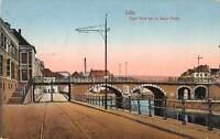 B107019 France Lille Pont Neuf sur la Basse Deule