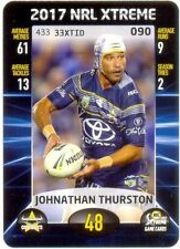 Johnathan Thurston Single NRL & Rugby League Trading Cards