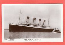 More details for white star  rms olympic  rp pc unused c r hoffmann southampton ref u817