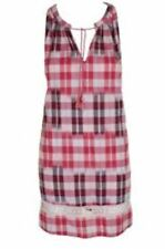 Lucky Brand Sleep Dress Nightgown Gown Cotton Woven $58.00 Red Plaid XL XLarge
