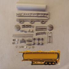 P&D Marsh N Gauge N Scale MV321 3 hatch chemical tanker trailer kit to paint