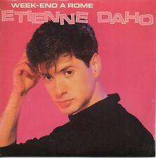 ★☆★ CD Single Etienne DAHO - LIO Week end a Rome 2-track CARD SLEEVE  ★☆★