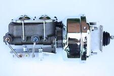 "1964-66 chrome Mustang 7"" Power Brake Booster cylinder disc/drum valve 6JE92"