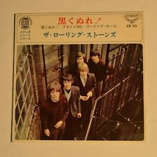 "ROLLING STONES - Paint it black - 1966 JAPAN 7"" EP 3-TRACKS"