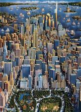 DOWDLE FOLK ART COLLECTORS JIGSAW PUZZLE NEW YORK 1000 PCS #10093