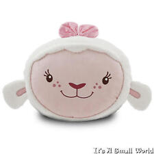 "Disney Store Lambie Face Soft Plush Pillow 14"" x 22"" Doc McStuffins NWT"