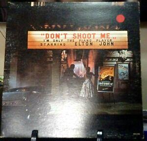 ELTON JOHN Don't Shoot Me I'm Only The Piano Player Released 1973 VINYL ALBUM