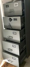 Cannon Gsa Heavy Duty 600lbs Safe 5drawer File Cabinet Combo Lock Clean 35000
