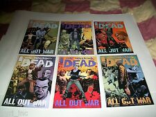 THE WALKING DEAD 115-126 1st PRINT ALL OUR WAR 12 PART STORY COMPLETE IMAGE L