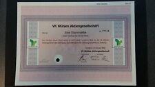 Aktie VK Mühlen AG 50 DM 1992 Hamburg