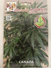 50 Semi/seeds CANAPA CON PASSAPORTO CERIFICATA canapa Sativa