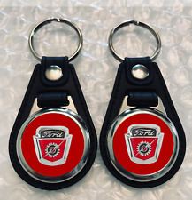 RED FORD F-100 KEYCHAIN SET  1954 1955 1956