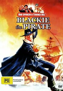 (NEW/SEALED DVD) (COMEDY) (BUD SPENCER) (BLACKIE THE PIRATE) (R#2 PAL) (TRACKED)