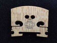 New FRANCE Genuine AUBERT LUXE TREATED Violin bridge 4/4