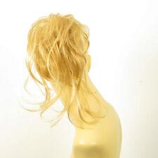postiche chouchou chignon cheveux blond clair doré ref: 22 en lg26