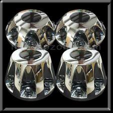 """GMC Sierra 3500 17"""" Dually Chrome Replica center caps hubcaps Set 4 2011-2019"""
