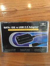 Vantec SATA/IDE to USB 2.0 Adapter Supports 2.5-Inch, 3.5-Inch NIB