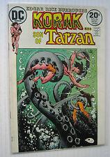 "Korak #54 (DC 11/73) VF+  ""The Tribe That Time Forgot!""/Joe Kubert-a. Wow!!!!"