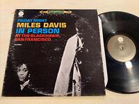 Miles Davis In Person At The Blackhawk Volume 1 LP Columbia LE VG+!!!!