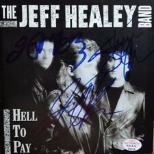 The Jeff Healey Band Group Signed CD Cover PAAS/COA Indie Alternative Punk Rock