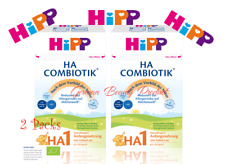 Best Organic Baby Food HiPP Combiotic Infant Formula HA 1 Bio From Birth 2x 500g