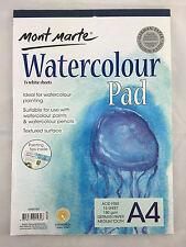 2x15White Sheets Mont Marte Watercolour Pad A4 German Paper Atrist Painting Art