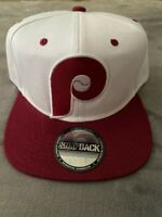 Philadelphia Phillies MLB Vintage Throwback Logo Snapback Baseball Cap Hat NEW