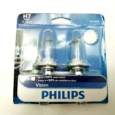 Philips VIsion 30% H7 55W Two Bulbs Head Light Low Beam Replacement Plug Play OE