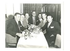 Original Joe DiMaggio Dinner 8 X 10 Photo