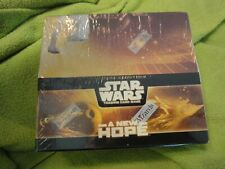 Star Wars TCG A New Hope, Wizards sealed CCG Booster Card Pack Box. NOS/New!