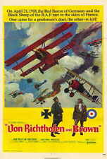 MAGNET Movie Poster Photo Magnet THE RED BARON 1971 John Phillip Law