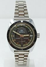 Orologio Breil diver vintage mechanic watch diving clock sub reloy sub horloge