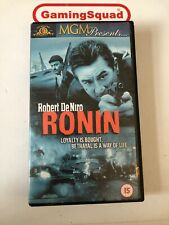 Ronin VHS Video Retro, Supplied by Gaming Squad
